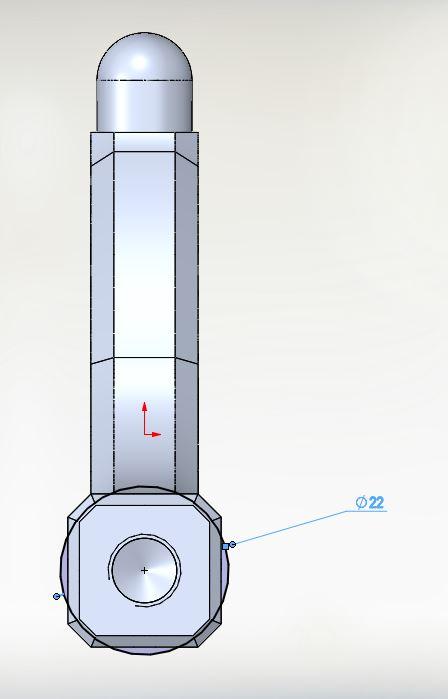22mm bearing visual