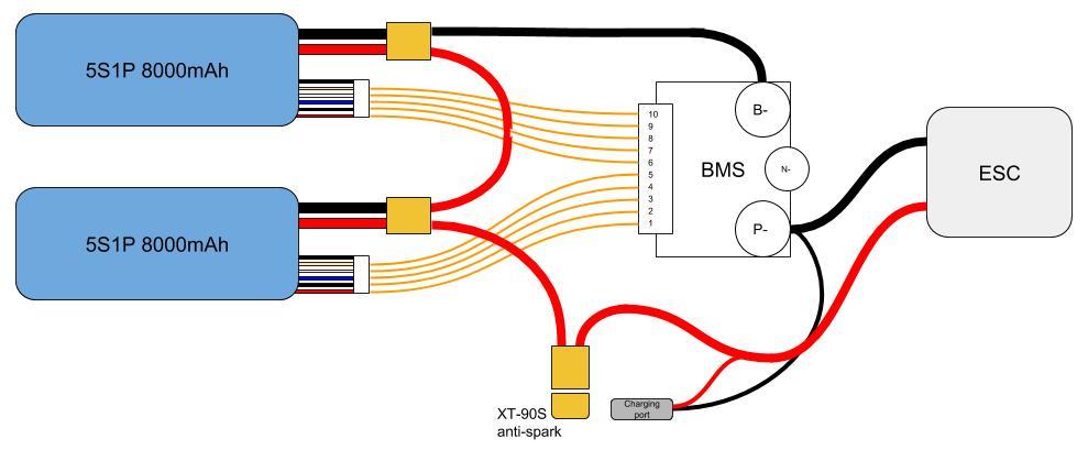 Longboard wiring diagram